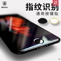 【支持礼品卡】倍思 苹果6s按键贴home键贴6plus识别指纹7iphone6手机按键贴5s七