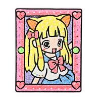 儿童DIY雪花泥精美彩虹画板手工黏土粘贴制作亲子材料珍珠泥画板