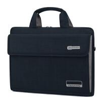 电脑包笔记本包手提型电脑包华硕戴尔三星笔记本电脑包15.6寸14寸单肩手提商务男女士公文包