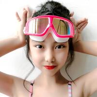 儿童泳镜男童女童游泳眼镜防水防雾高清潜水镜装备