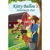 【预订】Kitty Ballou's Sanctuary Zoo: black and white illustrat