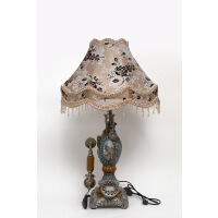 家居装饰复古时尚样板房台灯欧式风格机灯饰灯具仿古座机