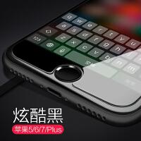 苹果5s按键贴8金属home键6plus指纹识别iphone6s按键贴7七八