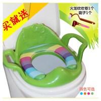 儿童坐便器马桶圈通用便携辅助坐垫男女宝宝用塑料坐便圈加厚软垫
