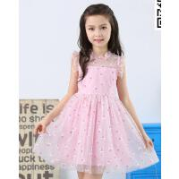 童装新款中大童儿童裙子韩版纱裙女童夏装连衣裙小女孩公主裙 可礼品卡支付