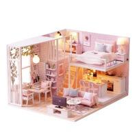 7-8-9-10岁儿童手工大房子娃娃家屋女孩子小公主朋友生日礼物儿童玩具