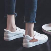 2019春款小白鞋女平底韩版板鞋学生系带休闲鞋ulzzang原宿潮鞋子