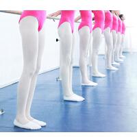 儿童舞蹈袜夏季薄款女童连裤袜白色练功裤袜打底裤丝袜女跳舞袜子