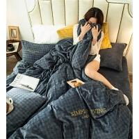 双面法莱法兰绒床上用品四件套冬季加厚牛奶珊瑚绒床单被套 支持定做床笠款 单独下单不发货