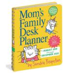 现货 妈妈的家庭桌面计划日历2020 软封面装订 待办清单 英文原版 Mom's Family Desk Planne