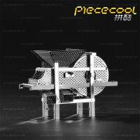 3D金属拼装模型拼图玩具 立体拼图模型 创意DIY玩具 摆件 丰谷机