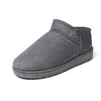 雪地靴女短筒2019冬季新款短靴韩版百搭学生棉鞋加绒保暖靴子