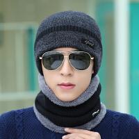 帽子男冬天保暖护耳毛线针织帽户外加绒冬帽