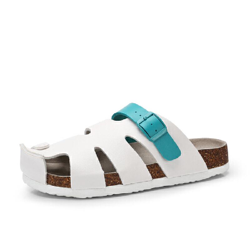 骆驼牌 女鞋 新品包头休闲舒适女凉拖鞋时尚简约沙滩鞋