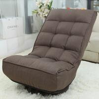 大豪懒人沙发单人电脑沙发椅榻榻米休闲折叠创意椅子 可折叠旋转