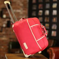 拉杆书包学生旅行包女手提大容量男拉杆包行李包可折叠待产包储物包旅行袋