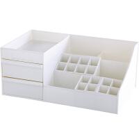 化妆品收纳箱创意抽屉式桌面面膜收纳盒整理箱收纳架床头宿舍小型储物箱