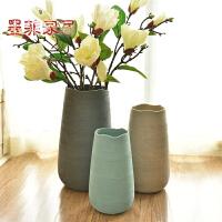 墨菲北欧现代简约陶瓷插花花瓶创意客厅白色干花器家居装饰品摆件