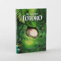 英文原版 宫崎骏 龙猫电影周边 30张明信片 吉卜力工作室 进口礼品书 My Neighbor Totoro: 30