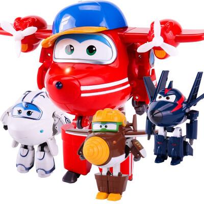 奥迪双钻超级飞侠玩具迷你变形机器人全套装小飞侠玩具 淘淘 金刚 酷雷 米莉 好礼相送 全场下单满立减!!