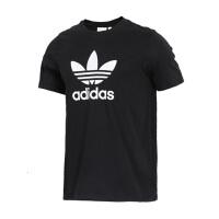 Adidas阿迪达斯 男装 三叶草运动休闲透气短袖T恤 CW0709/CW0710