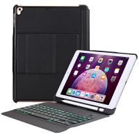 苹果ipad2018新款保护套Air2蓝牙键盘超薄2017平板电脑壳子带笔槽pro9.7英寸a189 ipad9.7/