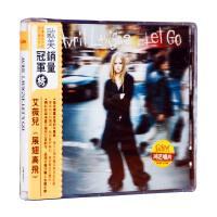 正版 艾薇��]� Avril Lavigne 展翅高�w Let Go (CD) 附歌�~本
