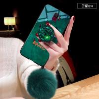 三星s9手机壳s9+保护套sm-g9650/ds水钻支架g9600全包防摔s9plus个性创意gal 三星S9 祖母绿