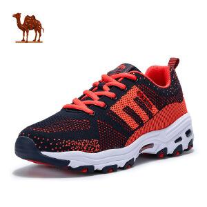 camel骆驼运动鞋  春季新品 情侣款增高跑鞋减震耐磨透气男女款熊猫鞋