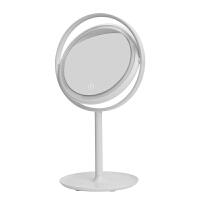 LED化妆镜台式带灯补光美妆灯简约公主镜便携镜子书桌宿舍梳妆镜