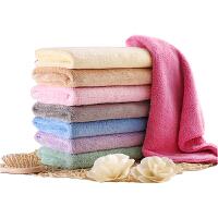 【两件包邮】卡伴婴儿洗脸巾口水巾柔软宝宝洗澡巾新生儿童吸水洁面巾成人毛巾长方巾30*50