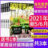 【送1本共3本】瑞丽家居设计杂志2021年5/6月打包 装饰装修设计书籍家装家庭室内装饰装修非2020过期刊