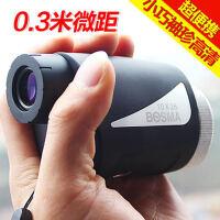 博冠焦点10x26单筒望远镜迷你袖珍高清高倍夜视户外便携入门观景