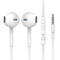 扁线面条耳机入耳式安卓重低音有线控带麦耳塞笔记本通用电脑k歌录音6s女生iPhone苹果vivo华为 标配