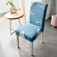 家用弹力椅套连体酒店餐椅套凳子套罩餐桌椅子套罩欧式餐椅垫套装