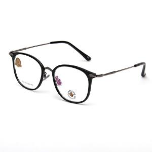 明治/KHDESIGN 近视眼镜框男女韩版潮复古圆形文艺超轻大脸全框镜架可配眼睛成品KS1755
