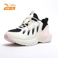 【到手价199】安踏女童休闲鞋2021新款休闲鞋大童鞋透气女孩鞋子322118896