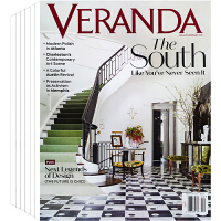 美国 VERANDA 杂志 订阅2021或2020年 下单时请备注年份 E45 别墅 豪宅 室内空间 家居软装设计杂志