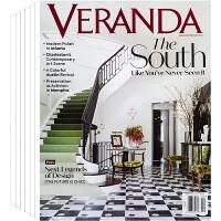 美国 VERANDA 杂志 订阅2021年 下单时请备注年份 E45 别墅 豪宅 室内空间 家居软装设计杂志