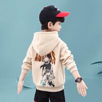 【限�r秒��r :49.9元】木木屋男童冬�b�l衣2020年新款中大�和�加�q加厚上衣男孩洋�舛�季童�b