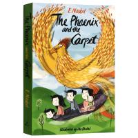 The Phoenix and the Carpet 五个孩子和凤凰与魔毯 英文原版小说 内比斯特 英文版进口英语书籍