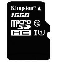 Kingston金士�D16GB 80MB/s TF卡(Micro SD)Class10 UHS-I高速存��卡 手�C行��