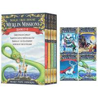 神奇树屋梅林的任务1-4册 英文原版 Merlin Mission1-4 The Magic Tree House 29