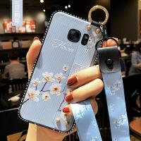 三星s7e手机壳S7腕带保护硅胶套SM一G9350曲面屏galaxy防摔G9300软壳G9308女款