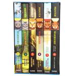 猫武士第4四部曲进口英文原版正版 Warriors Omen of the Stars Volumes 1-6本全套儿