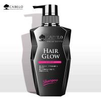 卡蓓诺(CABELO)日本进口防脱发育发洗发水男女士增发密发控油洗发露 洗发水无硅油 控油护发素(男士专用型)350m
