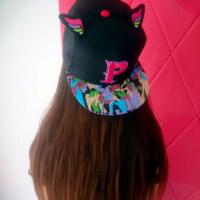 新款时尚男女街头嘻哈帽 韩版户外棒球帽酷酷牛头帽 牛角平沿翅膀帽