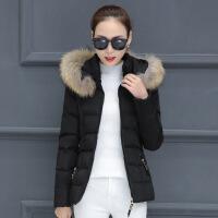 棉衣女短款2018新款冬季大码百搭韩版修身棉袄加厚羽绒外套潮