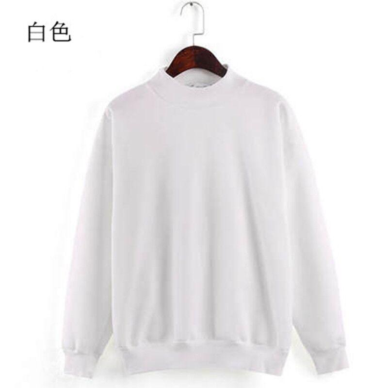 2018秋冬装女士卫衣长袖韩版套头宽松纯色气质加厚加绒学生装外套