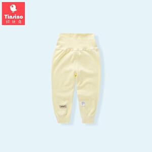 纤丝鸟(TINSINO)儿童秋裤男女童长裤宝宝净色打底裤子